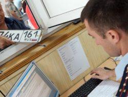 ГИБДД оставят в процессе выдачи автомобильных номеров