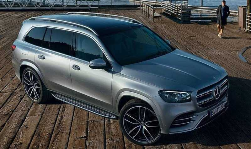Новый Mercedes-Benz GLS рассекретили до премьеры