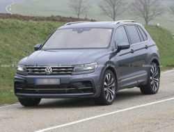 Названы сроки появления «заряженного» кроссовера Volkswagen Tiguan R