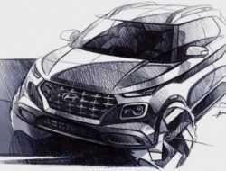Hyundai показала дизайн нового компактного кроссовера