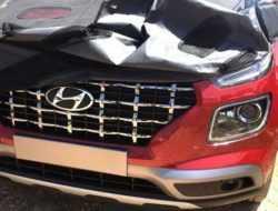 Дизайн самого дешевого кроссовера Hyundai рассекретили до премьеры