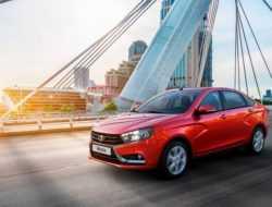 АвтоВАЗ рассказал о рекордных продажах Lada Vesta