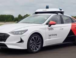 Беспилотный автомобиль нарушил ПДД в Москве
