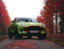 Aston Martin собрал 30 предзаказов в России на свой первый кроссовер