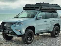 Lexus GX подготовили к путешествиям по тяжелому бездорожью