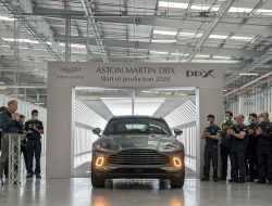 Кроссовер Aston Martin DBX поступил в продажу