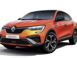 Кроссовер Renault Arkana получил новую платформу и гибридный мотор