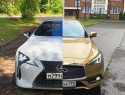 900 «лошадок» на двоих: сравнительный тест Lexus LC500 и Infiniti Q60S
