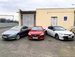 Идолопоклонство: сравнительный тест Skoda Superb, Mazda6 и Toyota Camry