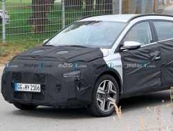 Опубликованы шпионские фото нового кроссовера Hyundai