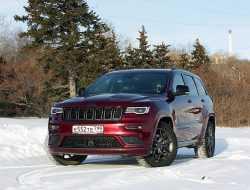Положительные вибрации: тест-драйв Jeep Grand Cherokee S Limited