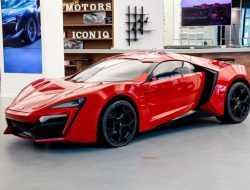 На аукционе продадут редкий арабский суперкар из «Форсажа»