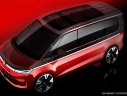 Volkswagen показал внешность нового Multivan