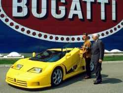 Принадлежавший Михаэлю Шумахеру Bugatti пострадал от наводнения в Германии