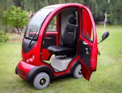 Посмотрите на самый дешевый в мире электромобиль: он стоит всего 100 долларов