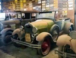 Видео: крупнейшая коллекция 100-летних Ford из заброшенного сарая