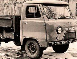 УАЗ показал электрический грузовик из прошлого. Фото